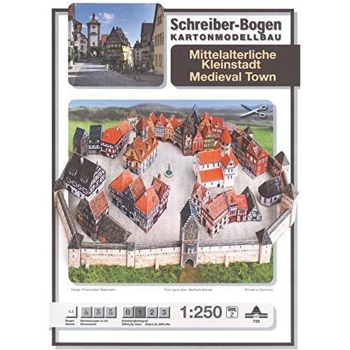 Buy Aue Verlag Schreiber-Bogen Card Modelling Medieval Town