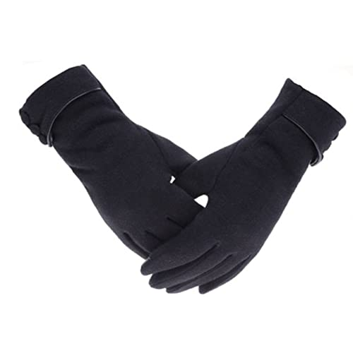 Cold Weather Gloves Womens Touch Screen Phone Fleece Windproof Winter Warm Wear