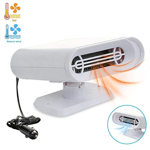 Portable 150W Windscreen Demister Defroster Car Heater Cooling Fan with Air Purification Function KOBWA 12V Car Heater