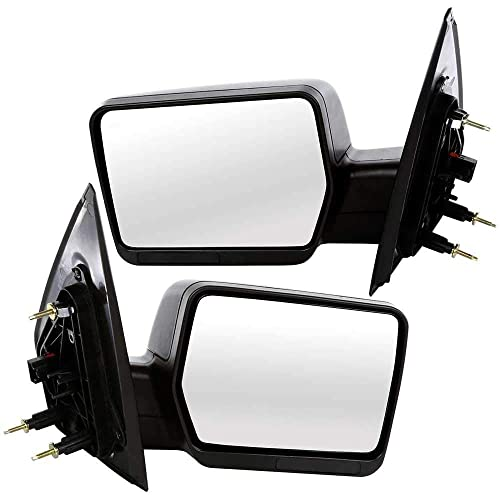 2 Driver Passenger Side Power Non-Heated Mirrors Prime Choice Auto Parts KAPFO1320233PR Set