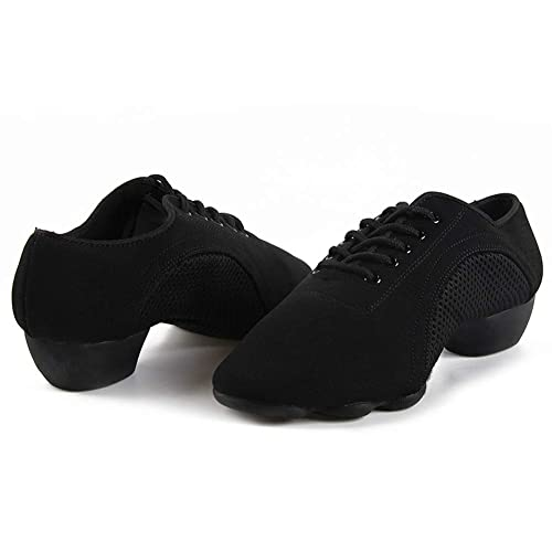 Athletic Fashion HIPPOSEUS Women Latin Dance Shoes lace-up Closed ...