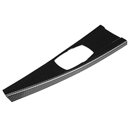 for driving left Qiilu Car Panel Cover Navigation Control Panel Frame Cover Trim Carbon Fiber Central Control Air Conditioning Cover for 3 Series F30 2013-2017