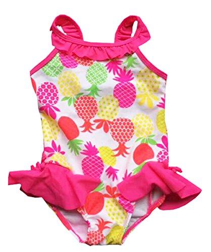 eKooBee Little Girls Swimwear One Piece Ice Cream Swimsuit