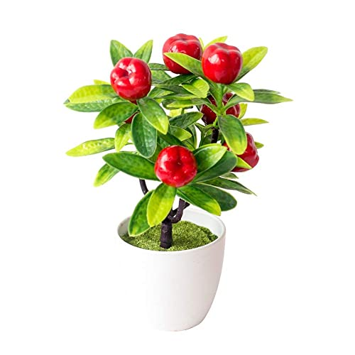 Ogquaton Fake Leaf Foliage Green Indoor Outdoor Artificial Plant Office Garden Decor Stylish and Popular