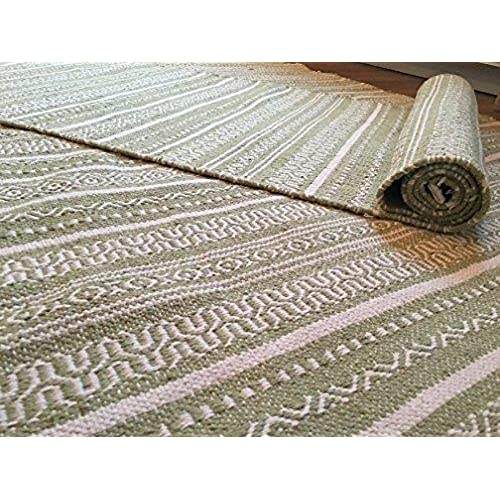 Sutra Large Rug Hand Loomed Sage Green