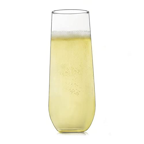 7e3343dbd8a Buy Libbey Stemless Champagne Flute Glasses, Set of 12 with Ubuy Kuwait.  B01FSICU7O