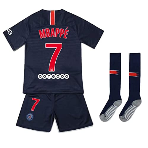 cheap for discount 23870 47d6f Buy Offshore fireworks 2018/2019 PSG Home #7 MBAPPE Football ...