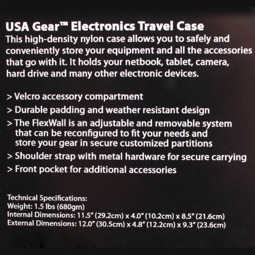 GooDee USA Gear Mini Projector Case S7 Pro Portable Projector Carrying Travel Bag Compatible with ViewSonic M1 and Other Small LED Projectors from DBPOWER LG PF1500W Meyoung Red Ragu