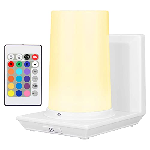 Buy Honwell Wall Lamp Wireless Battery Operated Wall Sconce For Bedroom Multi Color Led Wall Light For Room Decor Mood Lighting Stick On Rgb Lights For Bedroom 16 Colors Remote Controlled Online