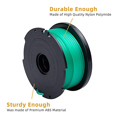 String Trimmer Parts & Accessories Lines & Spools ZONOWN 6 Pack ...