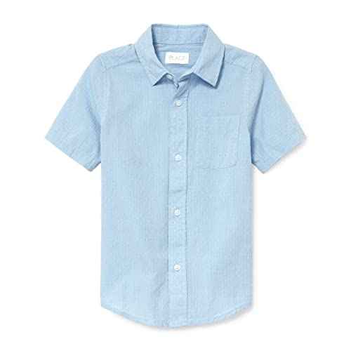 The Childrens Place Boys Short Sleeve Uniform Polo Shirt