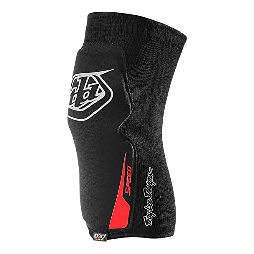 Black Troy Lee Designs Speed Adult Knee Guard BMX Body Armor