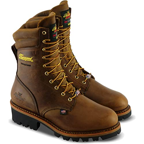 c3a4c4298aa Buy Thorogood Men's Logger Series - 9 400g Insulated Waterproof ...