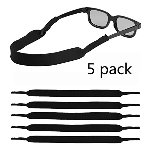 Adjustable Eyeglasses and Sunglasses Eyewear Retainer Blue Merlin Universal Fit Sunglass Strap Durable Comfortable Made in The USA Waterproof