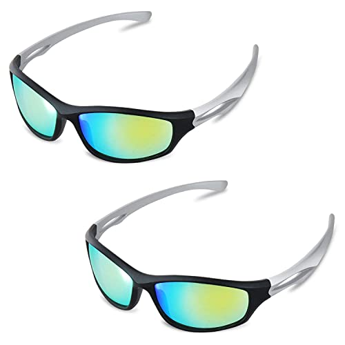 Blue Lens for Protection from HPS Lights Aviator Style with Protective Case UV Blocking Indoor Growing Glasses Happy Hydro Horticulture Grow Room Glasses