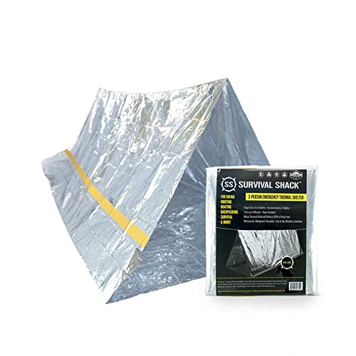 4a918d82638a Buy SharpSurvival Emergency Survival Shelter Tent   2 Person Mylar ...