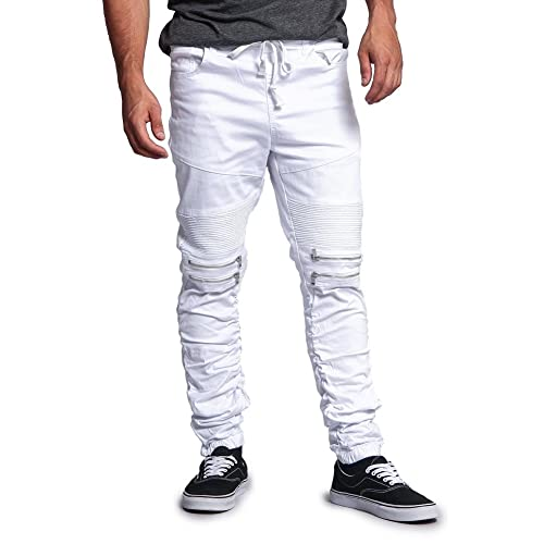 9e2d3be2ab0 Buy Victorious Zipper Knee Biker Twill Jogger Pants with Ubuy Kuwait.  B01M8F3QB8