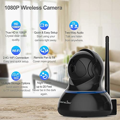 Buy Wansview Wireless 1080P IP Camera, WiFi Home Security