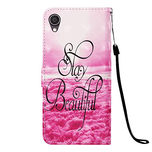 Cover for Samsung Galaxy S7 Edge Leather Kickstand Cell Phone Cover Luxury Business Card Holders with Free Waterproof-Bag White8 Samsung Galaxy S7 Edge Flip Case