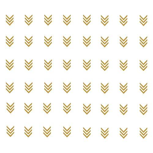 Buy Juekui Set Of 96 Pcs Matte Gold Tribal Arrow Stickers Wall Decal Geometric Modern Triple Arrows Wall Stickers For Nursery Kids Bedroom Home Decoration Decor Ws06 Gold Online In Kuwait B07qpzqqnq