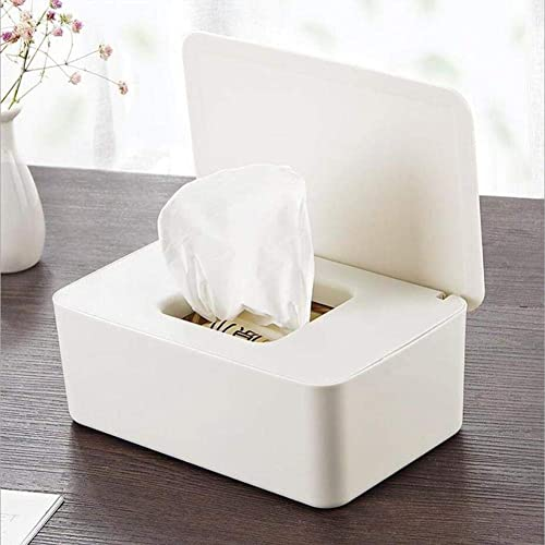Baby Wipes Holder with Lid Baby Wipes Case Wipes Container Baby Wipes Dispenser Keeps Wipes Fresh,Wipes Storage Case with for Home Office