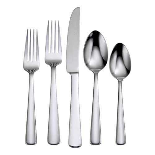 Service for 8 Idomy 40-Piece Stainless Steel Flatware Cutlery