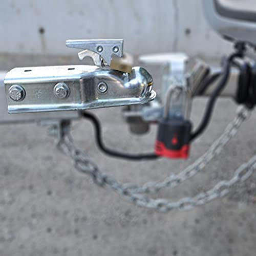 2 X 3 Trailer Coupler 2pcs 3500LBS Towing Boat Straight Tongue Coupler Zinc