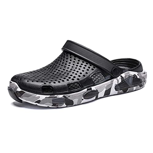 SSYUNO Unisex Garden Clog Shoes Summer Breathable Mesh Sandals Shoes Quick Drying Slippers Beach Water Non-Slip Sandals