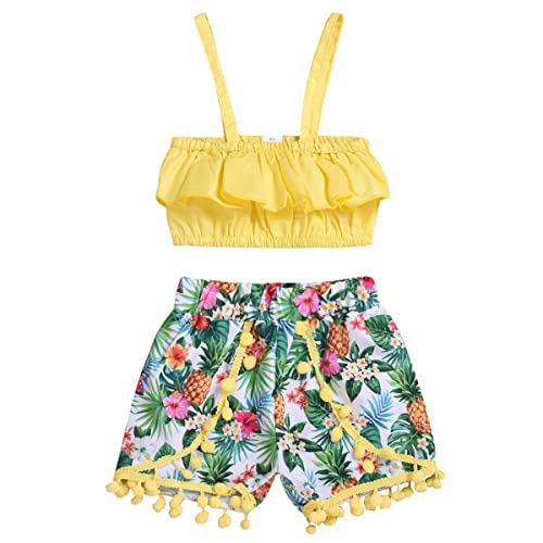 Short Pants Camouflage Shorts 2Pcs Outfits for 2-7 Years Kids Gyratedream Baby Boys Summer Clothes Set T-Shirt Short Sleeve Tops