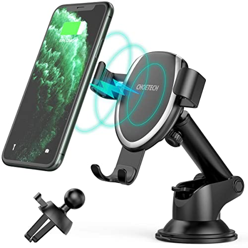 Car Cup Holder Phone Mount with Air Vent Mount and 1 Cable Clip Universal Adjustable Cup Phone Holder for Car Compatible with iPhone 11//11 pro//Samsung Galaxy S20//Note 20//Huawei P30//Mate 30 etc