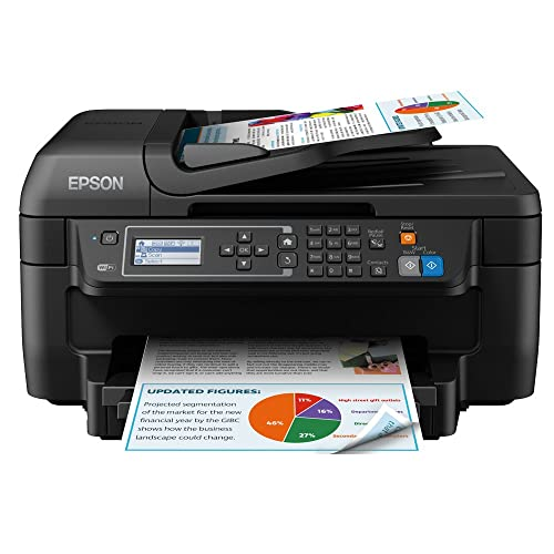 Buy Epson WorkForce WF-2750DWF Print/Scan/Copy/Fax Wi-Fi Printer