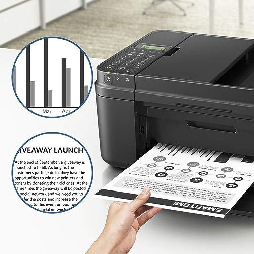 InkJello Compatible Toner Cartridge Replacement for Brother DCP-L2510D L2530DW HL-L2310D L2350DW L2370DN L2370DW L2370DW XL L2375DW MFC-L2710DN L2710DW L2730DW L2750DW TN2420 with Chip BK