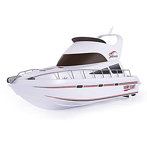 New Radio Remote Control Twin Motor Speed Boat RC Racing Boat Ready To Run UK