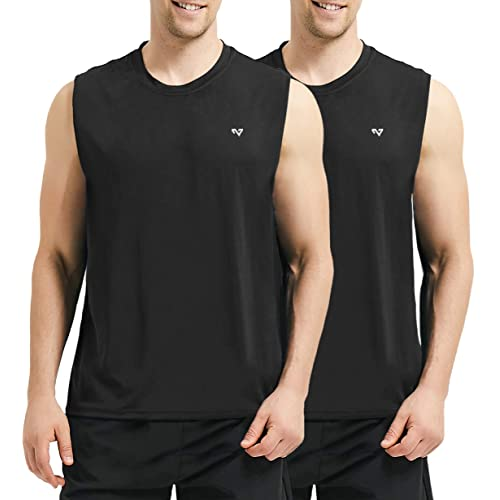 Sleeveless Workout Muscle Bodybuilding Shirt Running Quick-Dry T-Shirt Men