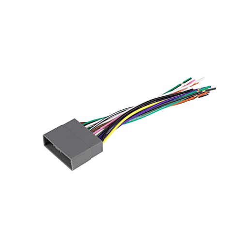Scosche SU03B Wire Harness to Connect an Aftermarket Stereo Receiver to Select 1993-Up Subaru Vehicles,