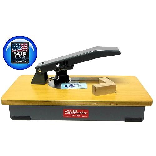 """Lassco Wizer Cornerounder Standard 1//8/"""" Corner Cutting Unit CU18 Die New"""