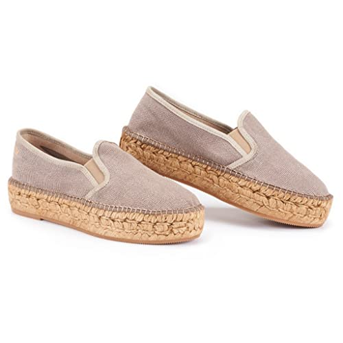 77d1d2e15 Buy VISCATA Handmade in Spain Castell Flatform, Authentic and Original  Spanish Made Canvas Espadrille Flats with Ubuy Kuwait. B0791TZC6S
