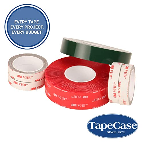 Double Sided Tape Roll Black x 15 ft 0.5 in Adhesives and Sealants Permanent Bonding 3M 4929 VHB Acrylic Adhesive Viscoelastic Tape