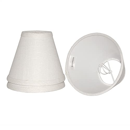 Tootoo Star Small Barrel Lamp Shade Clip On Bulb Adapter Holder For Chandeliers Wall Floor Light Replacement 3x6x5 Inch White Fabric Cloth 3pcs Pack Buy Products Online With Ubuy Kuwait In Affordable Prices