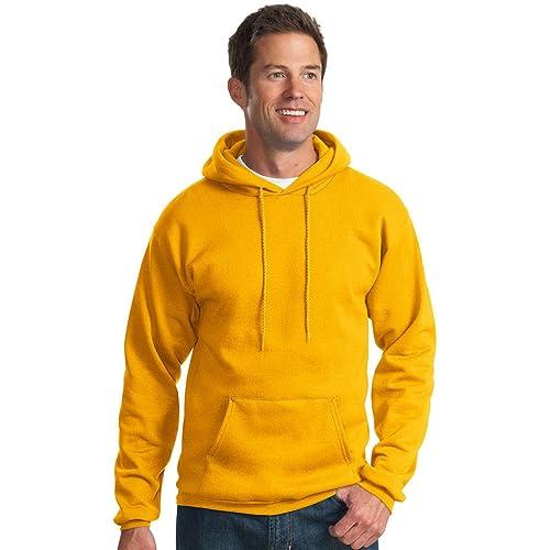 Port /& Company Pullover Hooded Sweatshirt3XL Ash PC90H