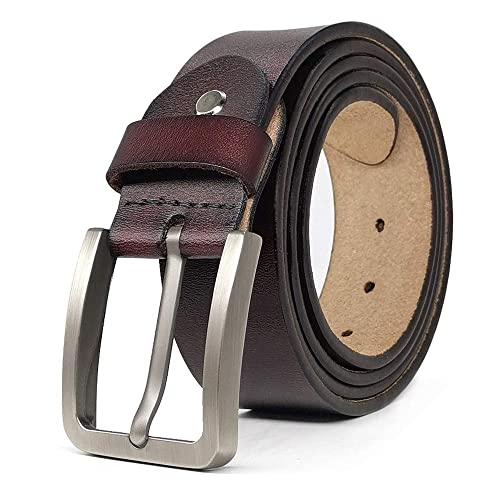 "Luxury Designer Belts for Jeans Genuine Leather Mens Belt Big Tall Size 30/""-63/"""