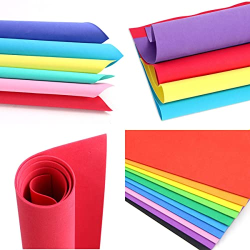 10 x 10 by 6mm Super Sticky Extra Strength Self Adhesive 6mm High Density EVA Foam Sheets-10in x 10in 5 Pack- specifically formulated for Applications requiring Firm Adhesion