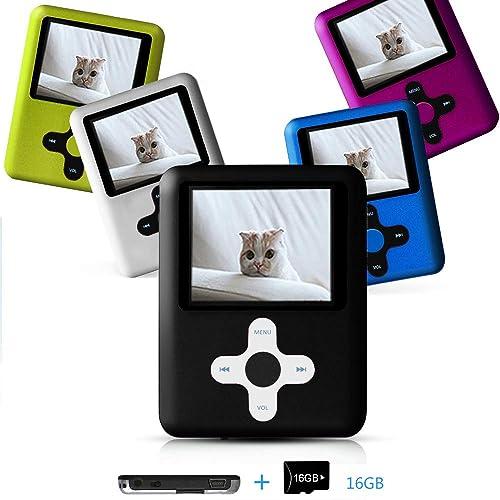 Media Player for Children-Black Lecmal Portable MP3 Player MP4 ...