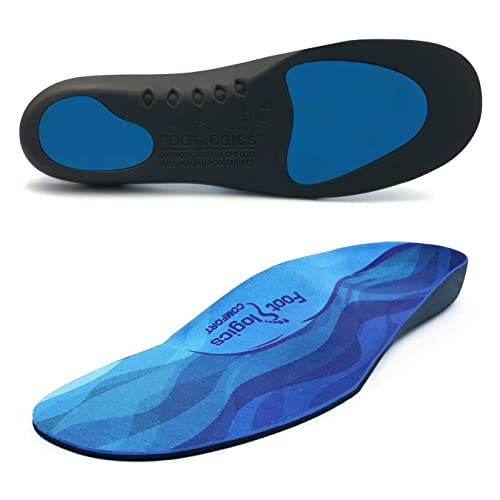 Orthotic Flat Foot Arch Support Cushion Shoe Insoles Heel Pain Relief Inserts QE