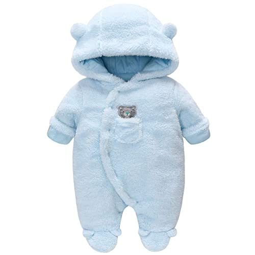 Pack of 2 SIBINULO Baby Boys Baby Girls Sleepsuit with Feet Mix Sizes 0-9 Months