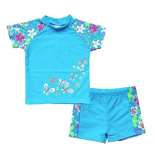 80e73aaaf8f05 Buy BAOHULU Girls Swimsuit Two Piece Tankini UPF 50+ UV Protective Rash  Guard Set 3-12 Years with Ubuy Kuwait. B06X6J2XPC