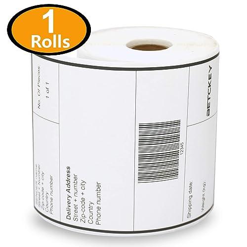 Buy 1 Rolls Dymo 1744907 Compatible 4XL Internet Postage