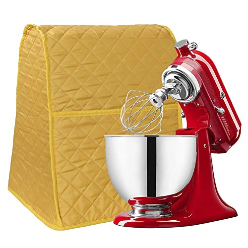 Buy Stand Mixer Cover Dust Proof Organizer Quilted Kitchen Mixer Protector Anti Fingerprint Mixer Covers Fits All Tilt Head Bowl Lift Compatible 4 5 6 Quart Models Cyfc628 Yellow Online In Kuwait B07ph4s6sg
