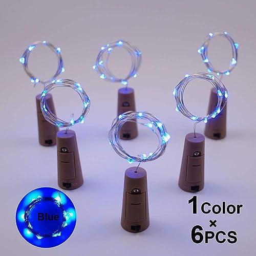 Buy X Deco Pack Of 6pcs Wine Bottle Mini Fairy String Light