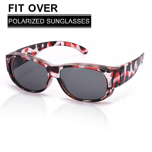 088744d61 Buy SIPHEW Fit Over Sunglasses for Men/Women, Polarized-Wear Over  Prescription/Rx Glasses-Wrap Around Over Glasses Sunglasses with Ubuy  Kuwait. B07Q2JCBHM